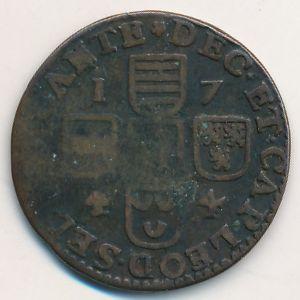 Льеж, 1 лиард (1744 г.)