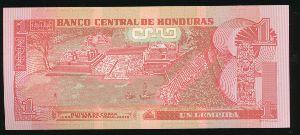 Гондурас, 1 лемпира (2008 г.)