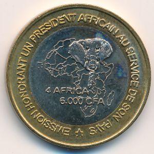 Камерун, 6000 франков КФА (2003 г.)