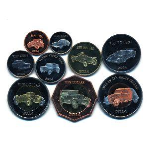 Остров Святого Евстафия, Набор монет (2014 г.)