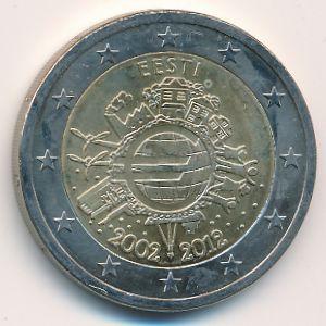 Эстония, 2 евро (2012 г.)