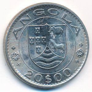 Ангола, 20 эскудо (1971 г.)