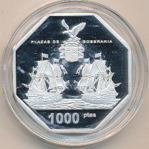 Острова Чафаринас, 1000 песет (2019 г.)