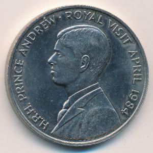 Остров Вознесения, 50 пенсов (1984 г.)