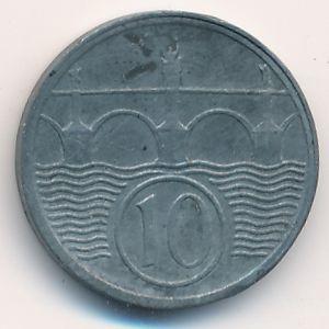 Богемия и Моравия, 10 гелеров (1941 г.)