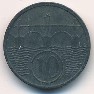 Богемия и Моравия, 10 гелеров (1944 г.)