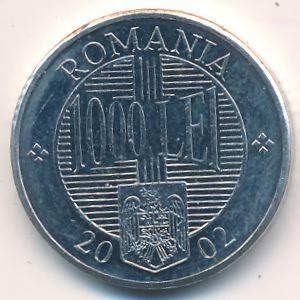 Румыния, 1000 леев (2002 г.)