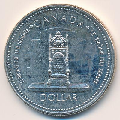 Канада, 1 доллар (1977 г.)