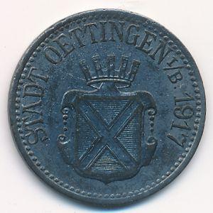 Эттинген., 10 пфеннигов (1917 г.)
