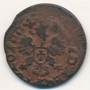 Речь Посполитая, 1 солид (1664 г.)