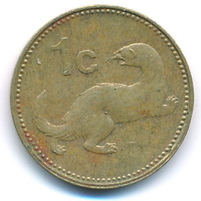 Мальта, 1 цент (1986 г.)