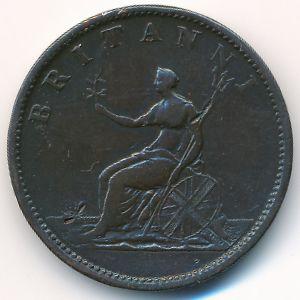 Великобритания, 1/2 пенни (1806 г.)