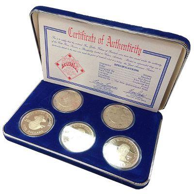 Хатт Ривер, Набор монет (1992 г.)
