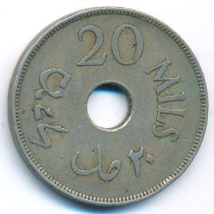 Палестина, 20 мил (1927 г.)