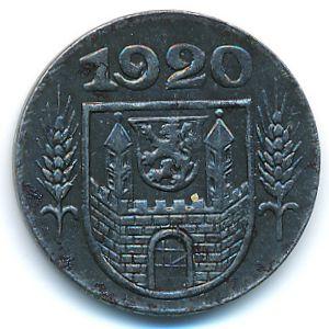 Вайсенфельс., 10 пфеннигов (1920 г.)