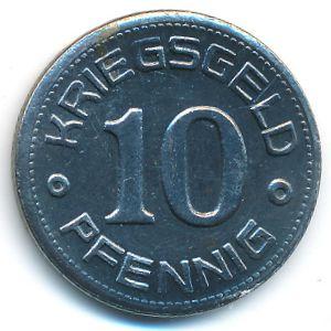 Вайсенфельс., 10 пфеннигов (1918 г.)