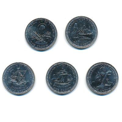 Остров Мэн, Набор монет (1979 г.)