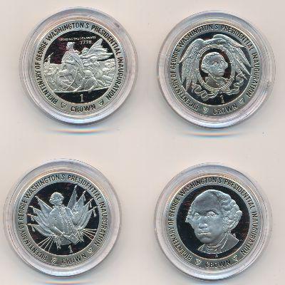 Остров Мэн, Набор монет (1989 г.)