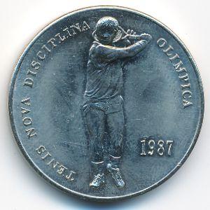 Андорра, 2 динера (1987 г.)