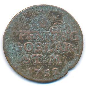 Гослар, 1 пфенниг (1752 г.)