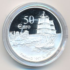 Финляндия, 50 евро (1997 г.)