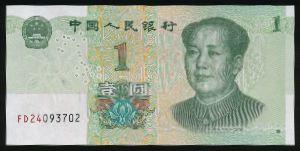 Китай, 1 юань (2019 г.)