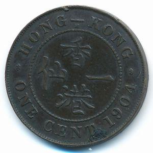 Гонконг, 1 цент (1904 г.)