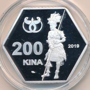 Острова Луизиада, 200 кин (2019 г.)