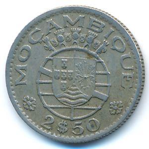 Мозамбик, 2,5 эскудо (1954 г.)
