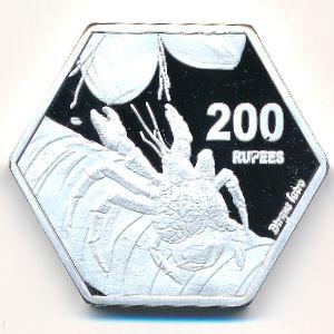 Чагос, 200 рупий (2019 г.)