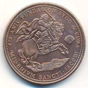 Куба, 1 песо (1993 г.)
