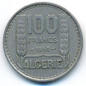 Алжир, 100 франков (1950 г.)