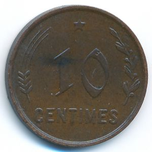 Люксембург, 10 сентим (1930 г.)