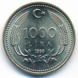Турция, 1000 лир (1993 г.)