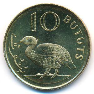 Гамбия, 10 бутут (1998 г.)
