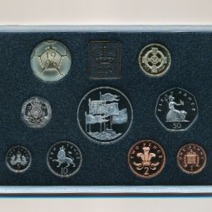 Великобритания, Набор монет (1996 г.)