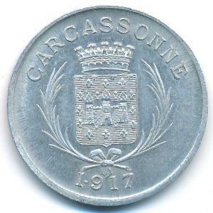 Каркасон., 10 сентим (1917 г.)