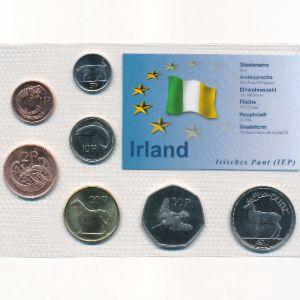 Ирландия, Набор монет