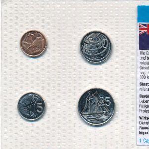 Каймановы острова, Набор монет