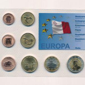 Мальта, Набор монет (2006 г.)