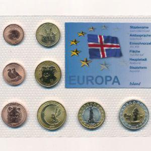 Исландия, Набор монет (2004 г.)