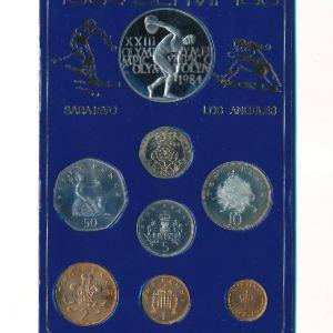 Великобритания, Набор монет (1984 г.)