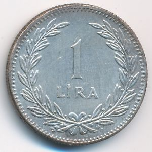 Турция, 1 лира (1948 г.)