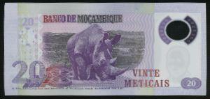 Мозамбик, 20 метикал (2011 г.)