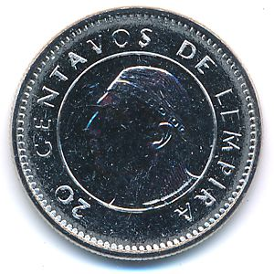 Гондурас, 20 сентаво (2010 г.)