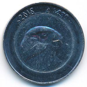 Алжир, 10 динаров (2018 г.)