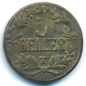 Немецкая Африка, 5 геллеров (1916 г.)