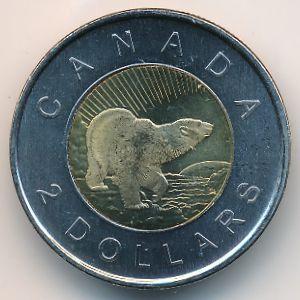 Канада, 2 доллара (2006 г.)