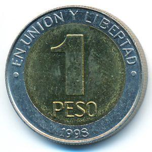 Аргентина, 1 песо (1998 г.)