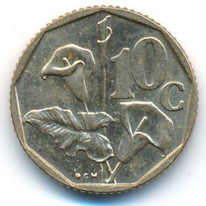 ЮАР, 10 центов (1991 г.)